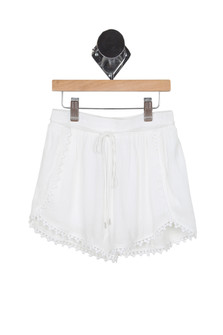 Eyelet Trim Short (Little Kid/Big Kid)