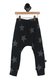 Star Print Harem Pant (Toddler/Little Kid)