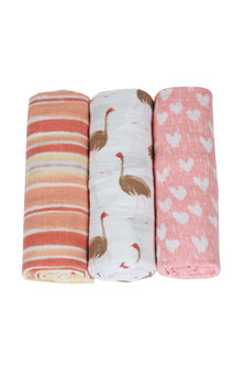 Flock Together Swaddle 3 Pack