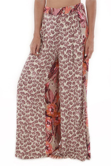 In The Mix Printed Pull On Pants