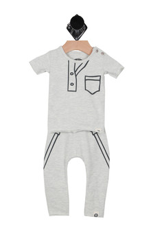 Suspender & Tie Matching Set (Infant)