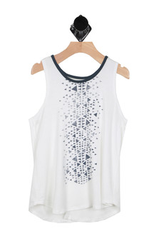 Open Criss Cross Back Tank (Big Kid)