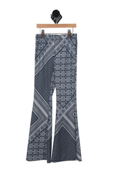 Printed Flare Pants (Big Kid)