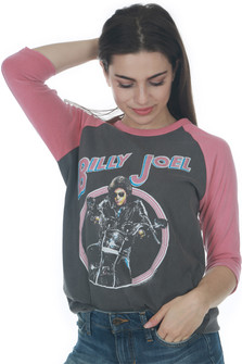 Billy Joel 3/4 Sleeve Tee