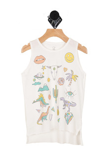 Desert Vibes Tank (Big Kid)