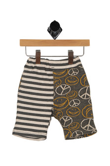 All Smiles  Peace Striped Shorts (Infant/Toddler/Little Kid)