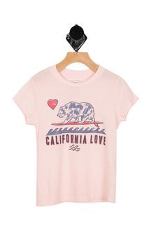 Cali Love & Stars Tee (Little/Big Kid)