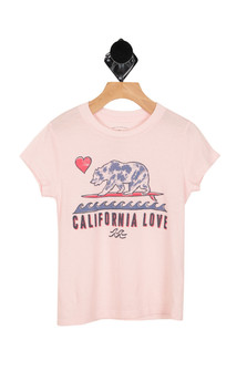 Cali Love & Stars Tee (Little/Big Kid)