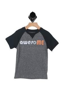 S/S AwesoME Jersey Tee (Little/Big Kid)