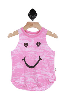 Peace Smiley Muscle Tank (Little/Big Kid)