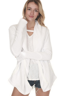 Sherpa Princess Cardigan