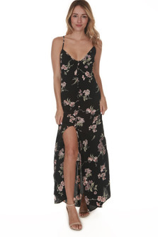 Unbutton Me Fresh Maxi Dress