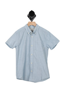 S/S Button Up Shirt (Big Kid)
