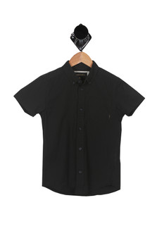 S/S Button Up Shirt (Toddler/Little Kid)