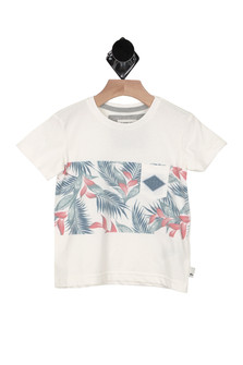 Faded Time Tee (Toddler/Little Kid)