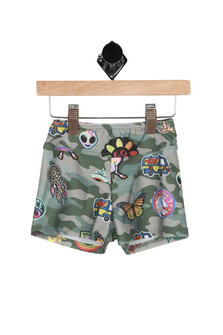 Army Hippie Swim Shorts (Little Kid)