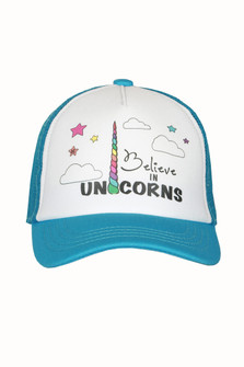 Believe In Unicorns Trucker Hat (Infant/Toddler/Little/Big Kid)