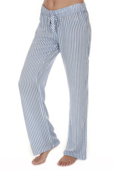 Striped Drawstring PJ Pants