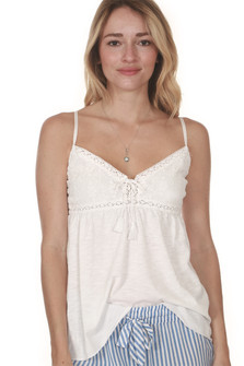 White It Out PJ Cami