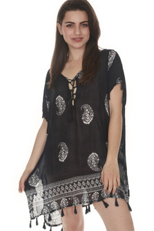Paisley Lightweight Cover Up
