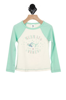 Mermaid Vibes Rashguard (Little/Big Kid)