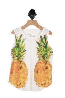 Reflected Pineapples Tank (Big Kid)