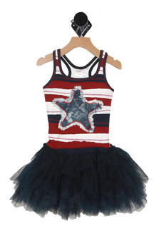 4th Of July Tutu Dress (Little Kid)