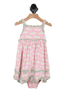 Ruffled Tank Dress W/ Bloomers (Toddler)