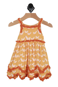 Ruffled Dress Romper (Infant)