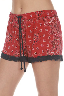 All American Paisley PJ Shorts