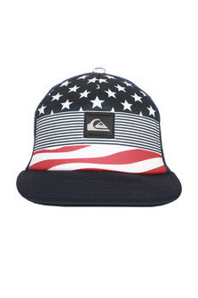 Americana Trucker Hat (Big Kids)