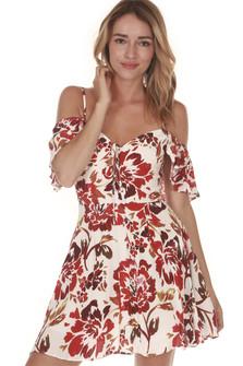 All Over Mini Dress