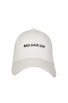 Bad Hair Day Embroidered Baseball Cap