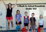 5 Back to School Essentials Under $15!