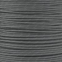 Reflective Charcoal Gray 550 Paracord (7-Strand) - Spools