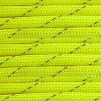 Reflective Neon Yellow 550 Paracord (7-Strand) - Spools