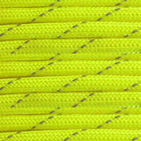 Reflective Neon Yellow 550 Paracord (7-Strand) - Spools