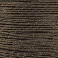 Reflective New Brown 550 Paracord (7-Strand) - Spools