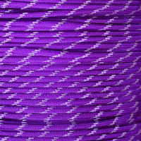 Acid Purple Glow in the Dark 550 Paracord - Spools