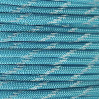 Neon Turquoise Glow in the Dark 550 Paracord - Spools