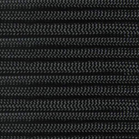 Black 550 Outdoor Cord with Jute Twine & Fishing Line - Spools