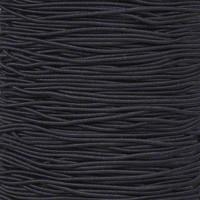 """Black 1/16"""" Elastic Cord - Spools"""