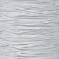 "White 1/16"" Elastic Cord - Spools"