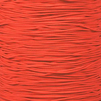 "Neon Coral 1/32"" Elastic Cord - Spools"