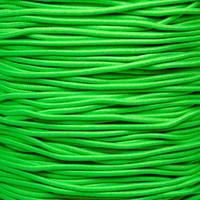 """Neon Green 1/32"""" Elastic Cord - Spools"""