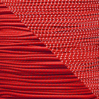 """Reflective Imperial Red 1/8"""" Shock Cord - Spools"""