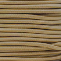 "Tan Bungee Shock Stretch Cord 1/4"" Diameter"
