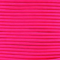 Neon Pink Para-Max Paracord 1200 lb Tensile Strength