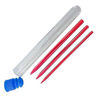 3pc. Paracord Needle (Fid) Set - Red
