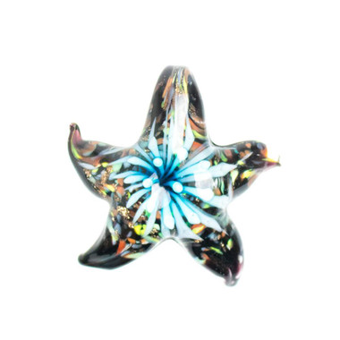 Glass Starfish Pendant - Reef